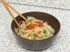 Paste de orez cu mazăre şi somon Paste, Potato Salad, Easy Meals, Food And Drink, Pizza, Potatoes, Cooking, Ethnic Recipes, Ideas