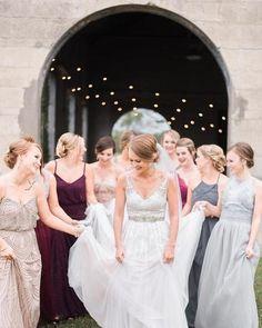 Art deco blouson beaded gown - Adrianna Papell