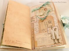 Live the Dream .......: My Story I Will Share : Eileen Hull Junk Journal