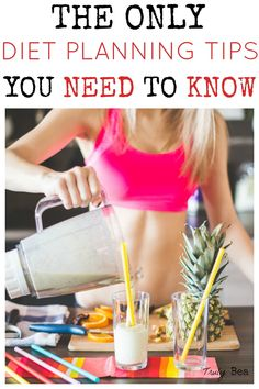 The Only Diet Planning Tips you Need to Know. WOW finally a comprehensive and easy to understand guide for diet planning. LOVE and must PIN!! Number 3 and 5 for sure!!