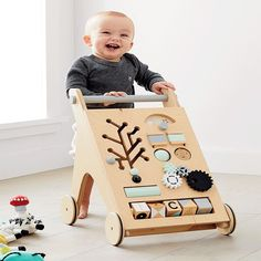 Cutest First Birthday Gifts A By - Gift Ideas For Baby Boy Birthday 1st Birthday Gifts, Baby Boy 1st Birthday, 1st Birthday Ideas For Boys, All Toys, Kids Toys, Wooden Playset, Wooden Toy Boxes, Woodworking Toys, Woodworking Projects