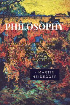 Martin Heidegger - Philosophy and language