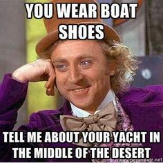 someone forwarded me this from the ASU memes page and i about died laughing when i saw it! hahah theres just so many boat in Arizona...