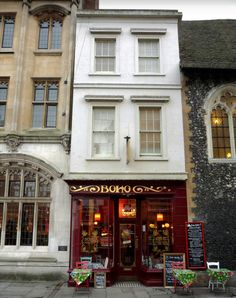 """Cafe Boho 27 High Street Canterbury, England Restaurant reviewers rave over this place: """"A very quirky place, full of character….. top notch food"""