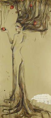 """Saatchi Art Artist Sara Riches; Drawing, """"Eden"""" #art #eve #eden"""