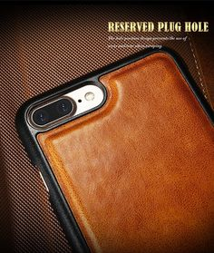 Floveme PU Vintage Leather Three Fold Flip Wallet Case Magnetic Detachable Phone Case For iPhone 7 Plus Apple Watch Accessories, Ipad Accessories, Three Fold, Leather Case, Leather Wallet, Wearable Device, Leather Material, Vintage Leather, Iphone 7 Plus