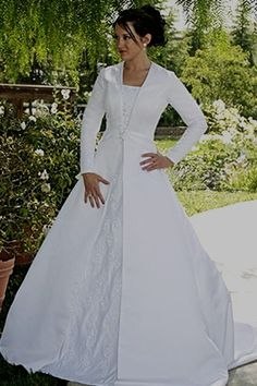 Modest Plus Size Wedding Dresses With Sleeves Temple Dress Rental
