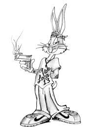 46 best images about ♡Gangster Bugs Bunny And Lola♡ on ...  |Bugs Bunny Cholo