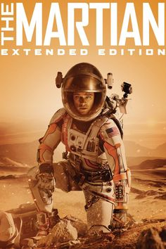 Blast off to the Red Planet - and beyond - with The Martian Extended Edition, featuring an All-New Extended Cut with over 10 minutes of action-packed footage not shown in cinemas, plus hours of never-before-seen e Movie Plot, Movie Tv, The Martian Film, Sebastian Stan The Martian, Best Drama Movies, Movie Info, Best Dramas, 2015 Movies, Movies Free