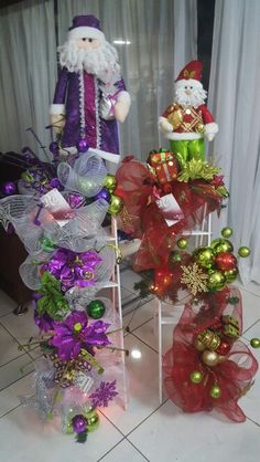 Escaleras Christmas Tree, Holiday Decor, Party, Home Decor, Decorative Ladders, Wreaths, Frames, Xmas, Staircases