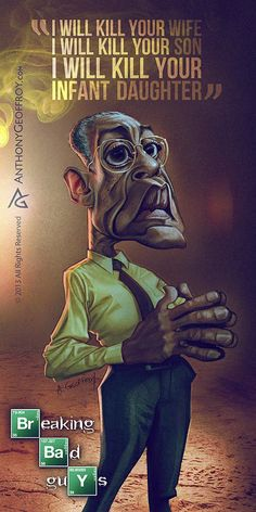 Breaking Bad Guys / Illustrated By Anthony Geoffroy