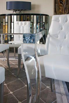 tavolo pranzo table chippendal plexyglass wama.it