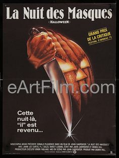 Halloween 1979 16x21 French Petite Movie Poster