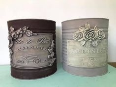 1 million+ Stunning Free Images to Use Anywhere Tin Can Crafts, Fun Crafts, Mason Jar Crafts, Bottle Crafts, Chicken Painting, Recycle Cans, Coffee Tin, Altered Bottles, Vintage Crafts