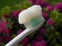 Brushing with coconut oil whitens teeth and strengthens gums