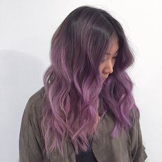 Image result for brown lilac ombre hair                                                                                                                                                                                 More