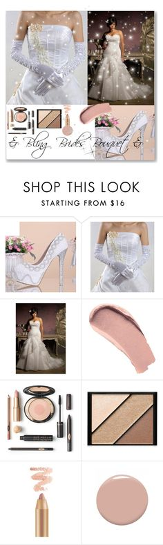 """& Bling Brides Bouquet & 9/II"" by nura-akane ❤ liked on Polyvore featuring Burberry, Elizabeth Arden and Christian Louboutin"