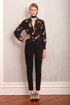 Tocca RTW Fall 2015... we'll take that blouse, thank you!