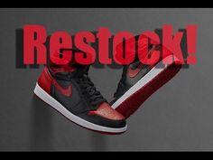 New post on Getmybuzzup TV- RESTOCK: Air Jordan 1 Banned Bred 2016 Info- http://wp.me/p7uYSk-wfs- Please Share