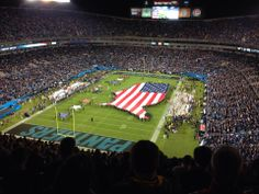 Monday Night Football! Panthers vs Patriots