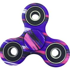 Fidget  Dice  hand  Fidget  Toy  spinners  stress  reducer  with  ceramic  bearing  purple