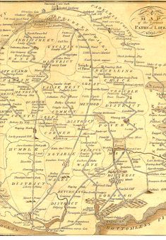 B. Johnson, who in 1805 published this fantastic map of the possible paths for living one's life:
