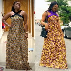 View our collection of Long Ankara Gowns. Pictures of The Latest Long Ankara Dress Styles in 2018 More Photos from our Collection of Long Ankara Gown Styles in 2018 Long Ankara Dresses, Ankara Dress Styles, Latest Ankara Styles, Ankara Gowns, Beautiful Ankara Styles, African Traditional Dresses, African Wear, African Fashion Dresses, Office Fashion