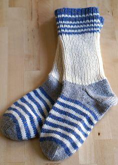 Ravelry: Socka med förstärkt hälkappa pattern by Anita Gunnars