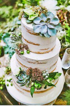 30 The Most Popular Elegant Wedding Cakes ❤ See more: http://www.weddingforward.com/elegant-wedding-cakes/ #wedding #cakes