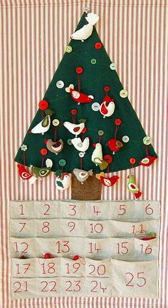 Advent Calendar- racing against time! by Bellgirl, via Flickr