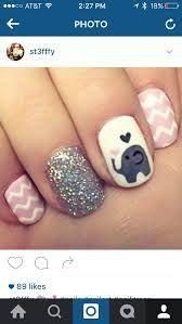 Resultado de imagen para uñas decoradas elefante