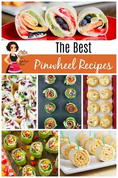 The Best Pinwheel Recipes - The Appetizer Chick Pinwheel Appetizers, Pinwheel Recipes, Tortilla Pinwheels, Afternoon Snacks, Clean Eating Snacks, Appetizer Recipes, The Best, Good Things, Spirals