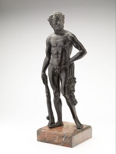 Hercules c. 1490 Dimensions 36,8 x 15 x 8,5 cm Material and technique bronze