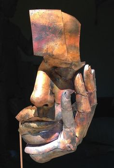Matteo Baroni (Florence, is an Italian artist. His work revolves around different sculpture forms, focusing on the recycling of scrap metal. Sculpture Metal, Pottery Sculpture, Arte Peculiar, Sculptures Céramiques, Sculpture Ideas, Scrap Metal Art, Contemporary Sculpture, Contemporary Art, Art Archive