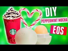 DIY Peppermint Mocha EOS Lip Balm! Starbucks Inspired 2015 - YouTube