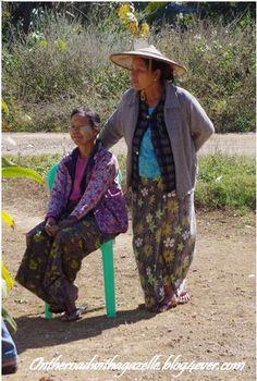 Ladies in Myanmar