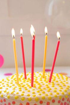 polka dot cake using candy buttons Easy Cake Decorating, Birthday Cake Decorating, Polka Dot Cakes, Polka Dots, Cupcakes, Cupcake Cakes, 90th Birthday Parties, Happy Birthday, Birthday Greetings