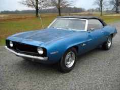 Want to own a 1969 Camaro like Damon Salvatore drives on The Vampire Diaries.