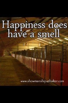 The smell of happiness