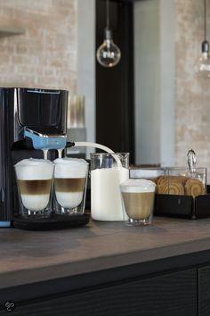 Coffeebar thuis! Philips Senseo Latte Duo, deze hebben we, heerlijke koffie!!!