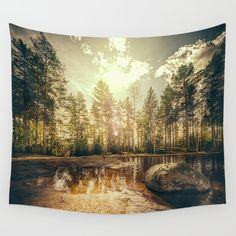 Available in three distinct sizes, our Wall Tapestries are made of 100% lightweight polyester with hand-sewn finished edges. Featuring…
