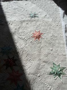 Margaret Gunn's quilting on a modern. Sewing & Quilt Gallery