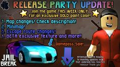 12 Best Roblox Jailbreak Updates Images Roblox Robbery Jail