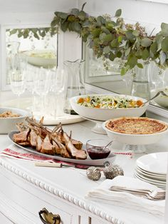 Christmas Dinner Menu - Traditional Menu for Christmas Dinner - Country Living