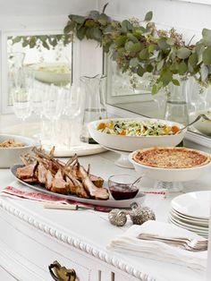 Christmas Dinner Menu - Traditional Menu for Christmas Dinner - Country Living