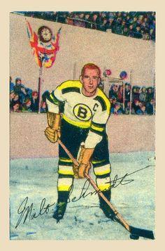 1952-53 Parkies #70 Milt Schmidt