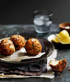 Fried bocconcini with gremolata crumbs :: Gourmet Traveller