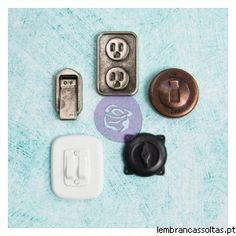 Junkyard Findings - Prima Marketing - Switches & Outlets