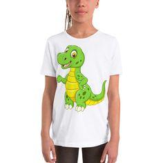 Youth Short Sleeve T-Shirt Youth, Short Sleeves, Unisex, Tees, Cotton, Mens Tops, T Shirt, Women, Fashion