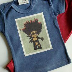 Rero modern infant clothing newborn  24 mos baby by LePetitMonAmi, $18.00